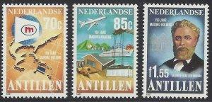 1987 Netherlands Antilles 605-607 Airplanes 4,50 €