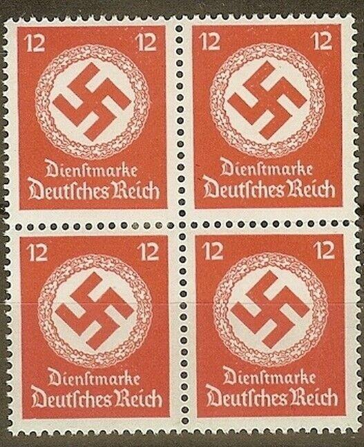 Stamp Selection Germany Block WWII 3rd Reich Hitler War War Era 3 MNH