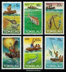 Tokelau Scott 85-90 Mint never hinged.