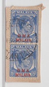 Malaya BMA - 1945 - SG 12 - Fine Used (Kota Bharu Cancellation)