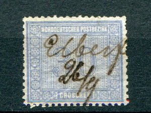 North German Confederation #26 used VF  - Lakeshore Philatelics