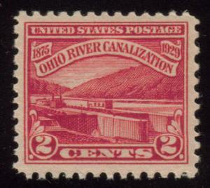 MALACK 681 XF-SUPERB OG NH, nice stamp g4271