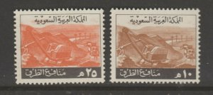 Middle East Revenue Fiscal Stamp 12-19-10a Saudi Arabia mint? no Cancel