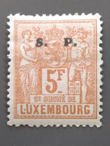Luxembourg O63 F-VF mint hinged. Scott $ 16.00