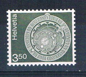Switzerland 579 MNH Clock 1973 (S1117)+