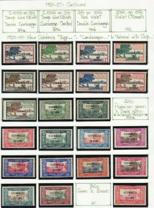 French Colonies Wallis and Futuna mint & used collection