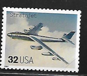 USA, 3142H, MNH, CLASSIC AMERICAN AIRCRAFT, STRATOJET