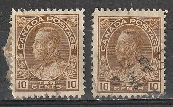 #118 Canada Used Admirals