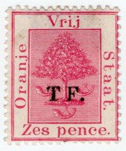 (I.B) Orange Free State Telegraphs : 6d Rose (setting 5)