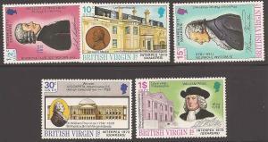 Virgin Islands (British) 249-253 Mint VF NH