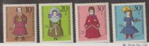 Germany Scott #B438-B441 Stamps - Mint NH Set