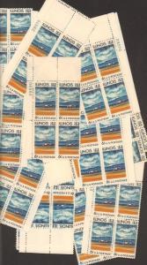1339 Illinois Statehood 150th Anniversary  25 MNH  6¢ plate Blocks  Issued 1968