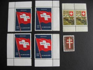 Switzerland labels, cinderellas, whatever they are, have a look!