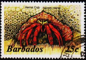 Barbados. 1985 25c S.G.799B Fine Used