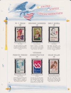 United States Postal Stamps
