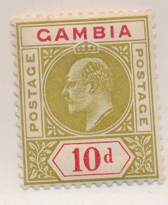 Gambia Stamp Scott #57, Mint Hinged - Free U.S. Shipping, Free Worldwide Ship...