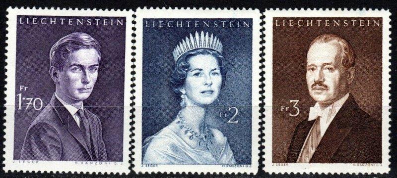 Liechtenstein #356A-357-8 MNH CV $7.00 (X8787)
