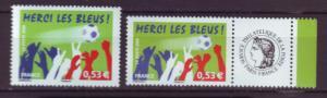 J20493 Jlstamps 2006 france set mnh #3228-29 sports