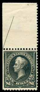 MOMEN: US STAMPS #276 MINT OG NH PSE CERT