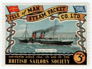 (I.B) Cinderella Collection : Isle of Man Steam Packet 3d (Ben My Chree II)