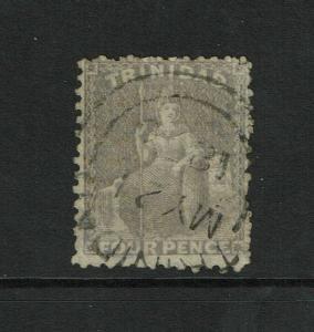 Trinidad SG# 71ax Used / Wmk Reversed - S6258