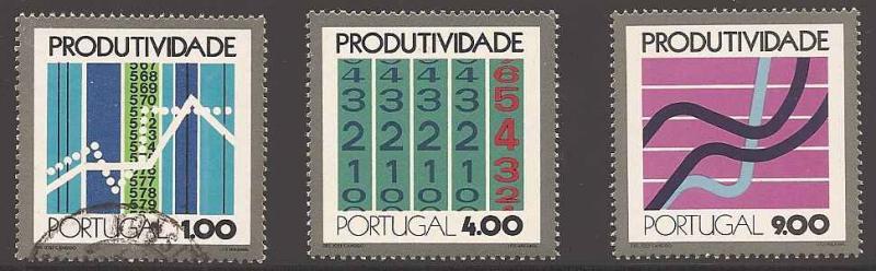 Portugal 1167-1169 Mint/Used VF NH