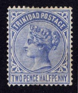 Trinidad 1883 2.5d Bright Blue SG 108 Scott 70 LMM/MLH Cat £23($37)