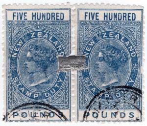 (I.B) New Zealand Revenue : Stamp Duty £1000