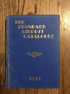 THE STANDARD AIRPOST CATALOGUE 1933