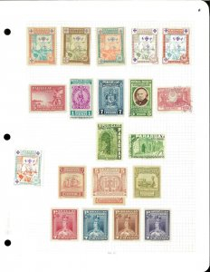 Latin America Misc. Lot of M & U on Sgtock Sheets & Pages