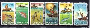 Tokelau 85-90 MNH