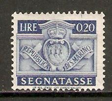 San Marino  #J68  MNH  (1945)