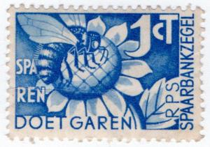 (I.B) Netherlands Revenue : Savings Bank 1ct (Bee)