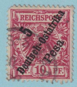 GERMAN EAST AFRICA 8  USED - NO FAULTS VERY FINE!