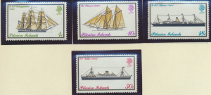 Pitcairn Islands Stamps Scott #147 To 150, Mint Lightly Hinged - Free U.S. Sh...