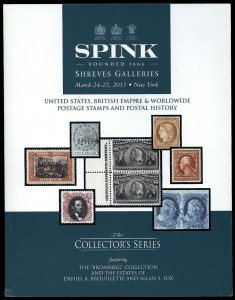 Spink Shreves catalog: The Collector's Series Mar. 24-25, 2011