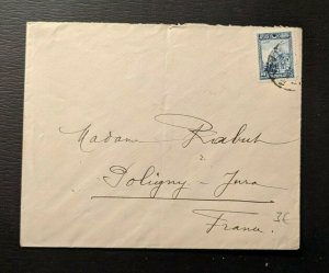 Vintage Turkey Cover to Coligny France