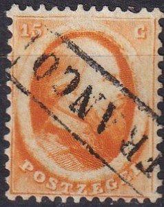 Netherlands #6   F-VF Used  Signed CV $100.00  (Z1214)