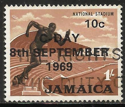 Jamaica 1969 Scott# 285 Used