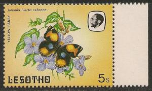 Lesotho #425 (SG #567) VF MNH - 1984 5s Butterfly