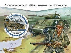 Z08 IMPERF GU190227b GUINEA (Guinee) 2019 Normandy landings MNH ** Postfrisch