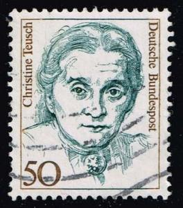 Germany #1480 Christine Teusch; used (0.25)