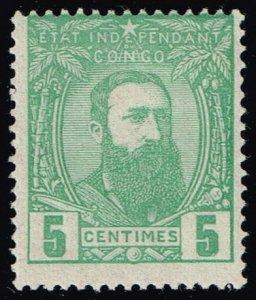 Belgian Congo #6 King Leopold II; Unused (2Stars)