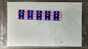 United States #4385 (10c) Patriotic Banner coil MNH strip of 5 (2009)