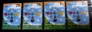 (406) Ethiopia / dialogue of civilisations / 2001 / scarce / rare / mnh