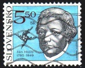Slovakia. 2000. 367. Jan Holi, Slovak writer. USED.