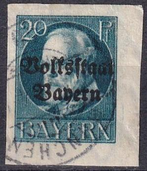 Bavaria #161 F-VF Used CV $20.00 (A18308)