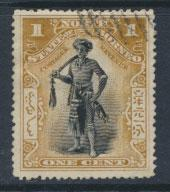North Borneo  SG 93c   Used  perf 15½/ 15¾    please see scan & details