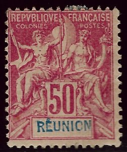 Reunion SC#48 Mint Fine hr $72.50...Worth a Close look!!
