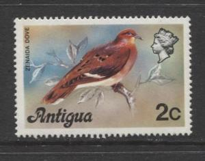 Antigua - Scott 407 - Zenaida Dove -1976 - MNH - 2c Stamp